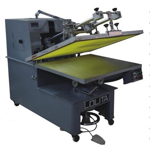 Semi Automatic Flat Screen Printing Machine